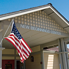 New Beginnings Center exterior