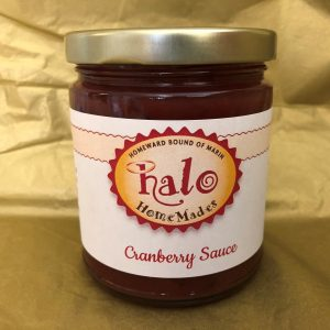 Jar of Cranberry Sauce